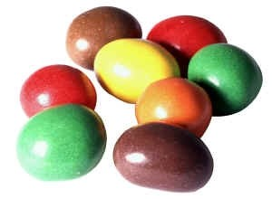 Rainbow Glazed Peanuts
