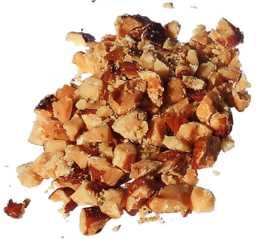 Almonds -- Diced, Roasted with No Salt
