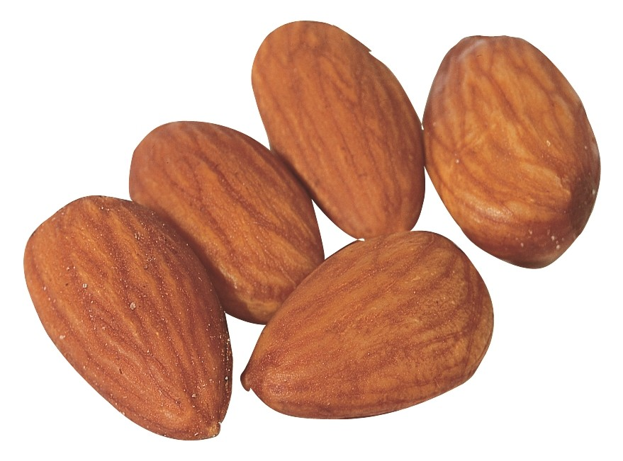 Almonds -- Roasted with No Salt