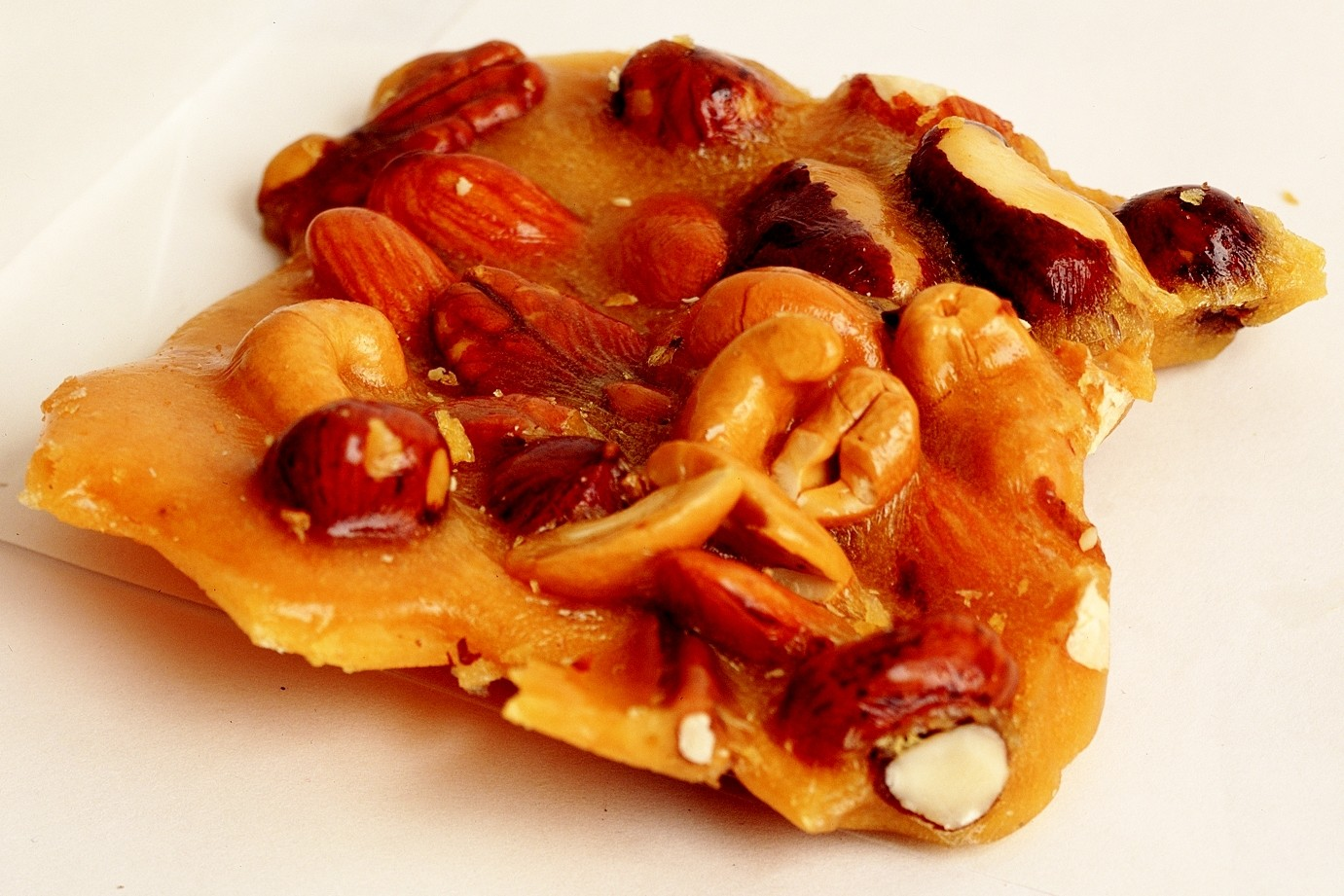 Mixed Nut Brittle