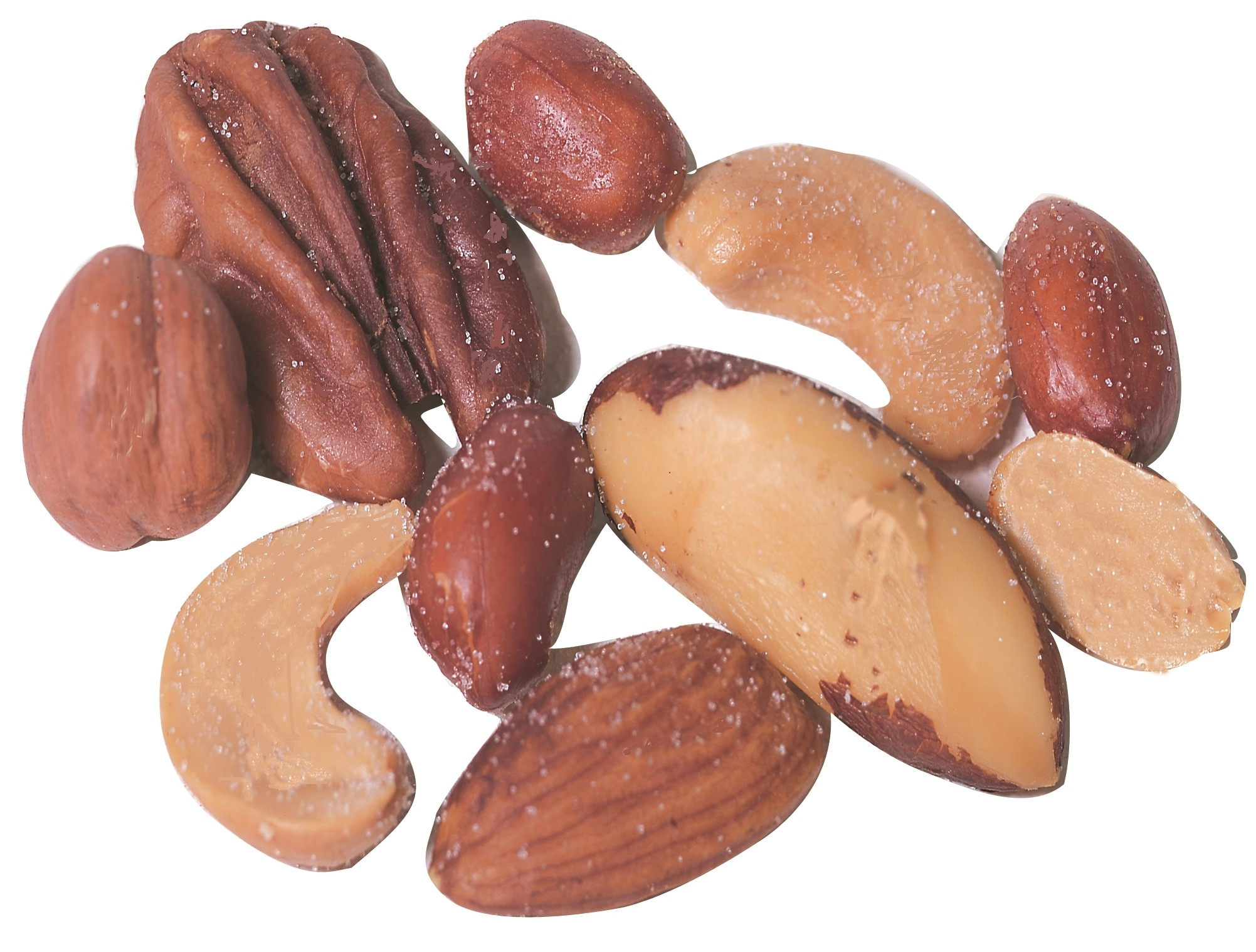 Regular Mixed Nuts -- Roasted with No Salt