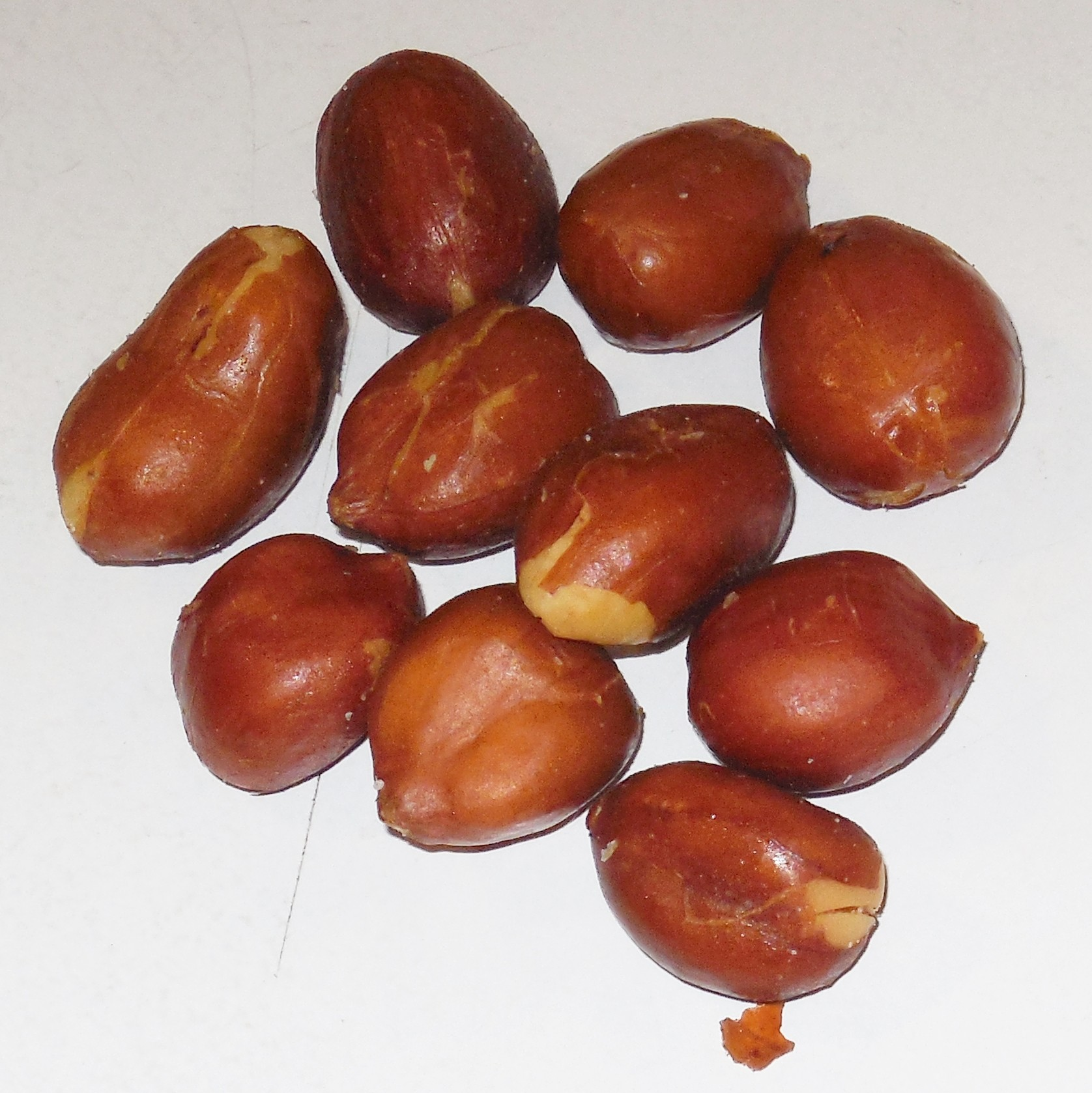 Redskin Peanuts -- Roasted with No Salt