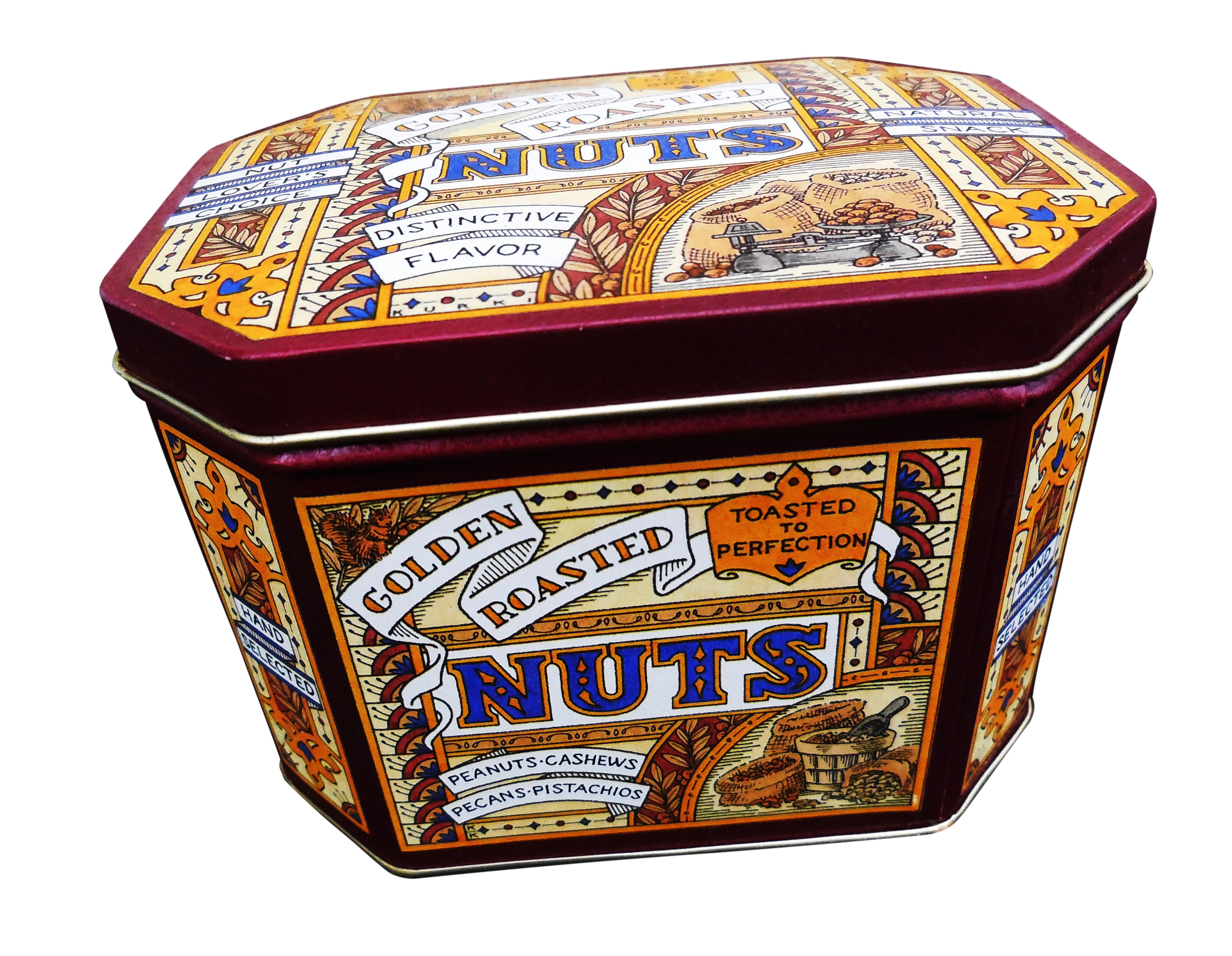 Roasted Nuts  Tin