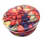 Basket of Fruit Tin