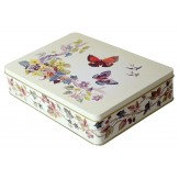 Butterfly Decorative Tin