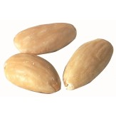 Blanched Almonds -- Whole, Roasted with No Salt