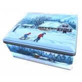 Sledding Pals Tin
