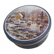 Currier and Ives Tin