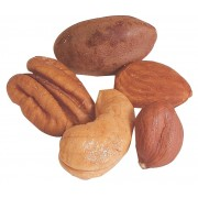 Deluxe Mixed Nuts -- Roasted with No Salt