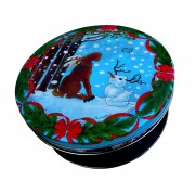 Moose Holiday Tin