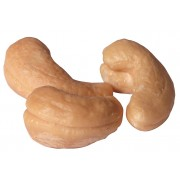 Large Cashews -- Whole, Roasted with No Salt (240)